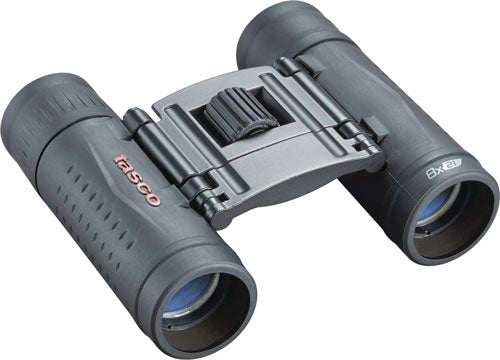 Tasco Binocular Essentials - 8x21 Roof Prism Black