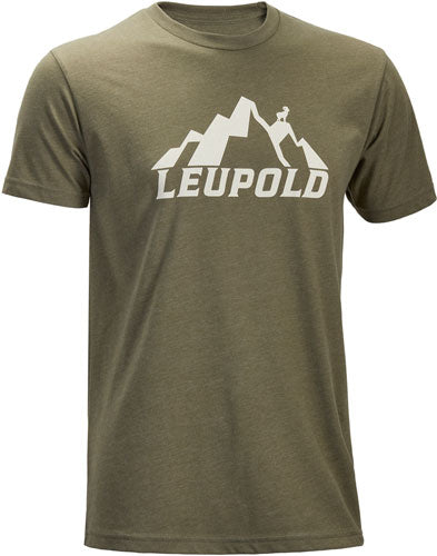 Leupold T-shirt Mountain - S-sleeve Lt Olive Large