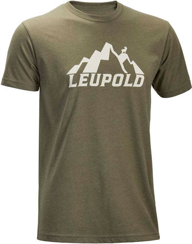 Leupold T-shirt Mountain - S-sleeve Lt Olive X-large