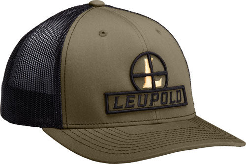 "Leupold Hat Trucker ""reticle"" - Mesh Loden-black Os"