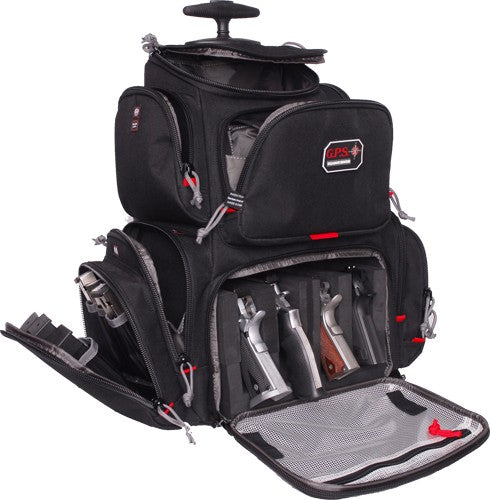 Gps Rolling Handgunner Range - Backpack Black