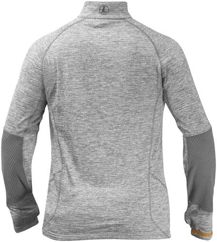Leupold 1-2 Zip Pullover - Covert Gray Heather Large<