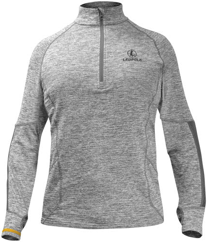 Leupold 1-2 Zip Pullover - Covert Gray Heather Xx-large<