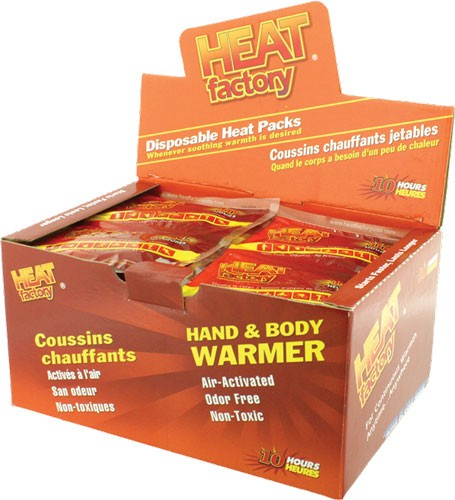 Heat Factory Hand Warmer Mini - Size 40 Pair 10 Hour