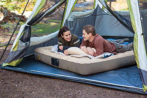 Coleman Quickbed Elite Queen - W- Built In 4d Pump Extra High