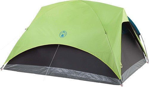 Coleman Carlsbad Dome Tent W- - Screen Room 4 Person 9'x7'x4'