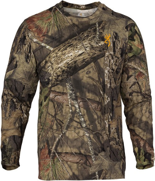 Bg Wasatch-cb T-shirt L-sleeve - Mo-breakup Country Camo Medium