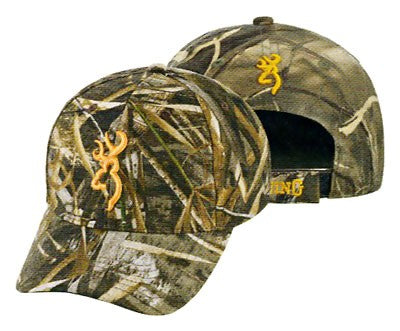 Bg Rimfire Cap Buck Mark Logo - Rtm5 Hook And Loop Back