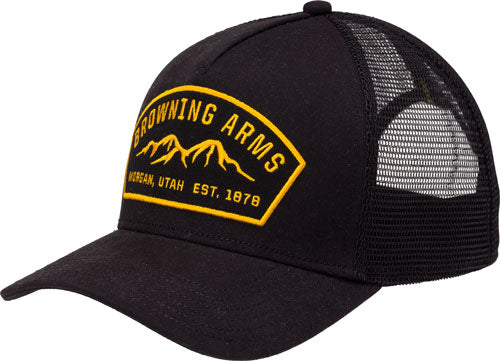 Bg Cap Ranger Logo Black - W-buck Mark Logo Adjustable