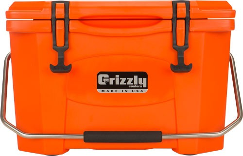 Grizzly Coolers Grizzly G20 - Orange-orange 20 Quart Cooler