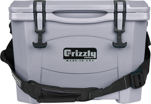 Grizzly Coolers Grizzly G15 - Gunmetal Gray 15 Quart Cooler