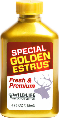 Wrc Deer Lure Special Golden - Estrus 4fl Ounces