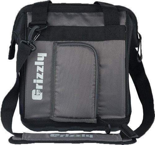 Grizzly Coolers Drifter 12 - Eva Molded Cooler Black-grey