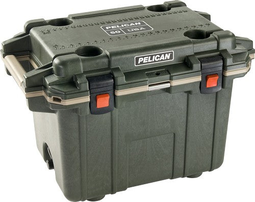 Pelican Coolers Im 50 Quart - Elite Od-tan