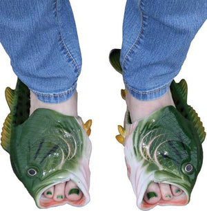 Rivers Edge Bass Fish Sandals - Adult Large  Size 11-12