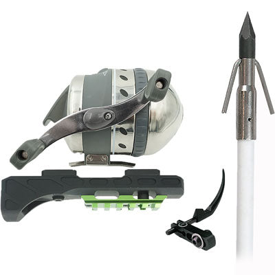 Muzzy Bowfishing Xtreme Duty - Spincast Kit W-extended Hood