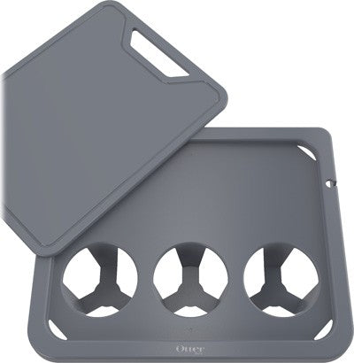 Otterbox Side Table-cutting - Board For Venture Coolers Grey