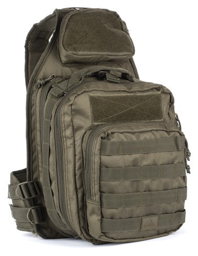 Red Rock Recon Sling Bag Od - Tear Away Feature Main Compart