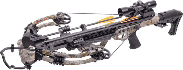 Centerpoint Crossbow Kit - Heat 415fps God's Country Camo