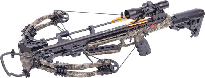Centerpoint Crossbow Kit - Mercenary 390fps God's Country