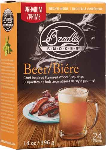 Bradley Smoker Beer Bisquettes - 24 Pack