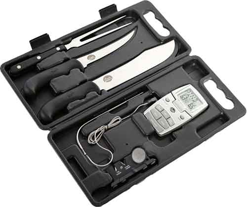 Bradley Smoker Carving Kit W- - Outdoor Edge Knives-magnetic