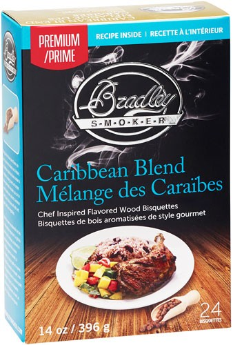 Bradley Smoker Caribbean - Bisquettes 24 Pack