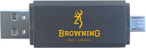Browning Trail Cam Card Reader - Compatible W-android Device