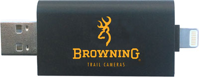 Browning Trail Cam Card Reader - Compatible W-ios Devices