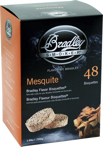 Bradley Smoker Mesquite Flavor - Bisquettes 48 Pack