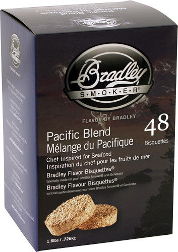Bradley Smoker Pacific Blend - Flavor Bisquettes 48 Pack