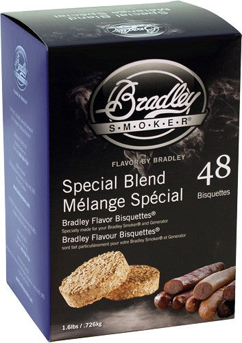Bradley Smoker Special Blend - Flavor Bisquettes 48 Pack
