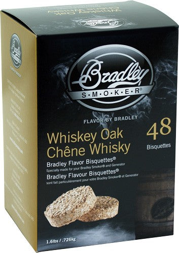 Bradley Smoker Whiskey Oak Se - Flavor Bisquettes 48 Pack