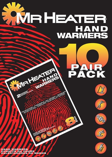 Mr.heater Hand Warmers 10 - Pairs Per Pack