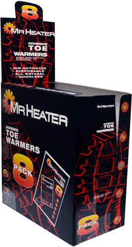 Mr.heater Toe Warmers 8 Pairs - Per Pack