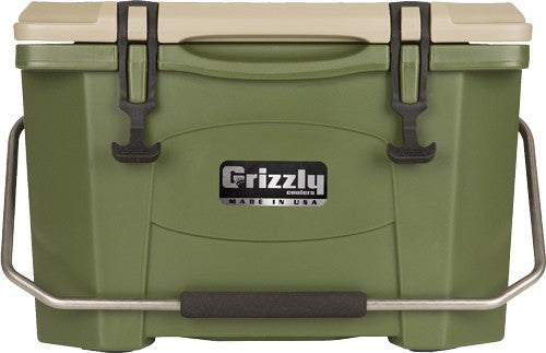 Grizzly Coolers Grizzly G20 - Od Green-od Green 20qt Cooler