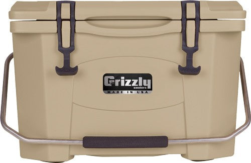 Grizzly Coolers Grizzly G20 - Tan-tan 20 Quart Cooler