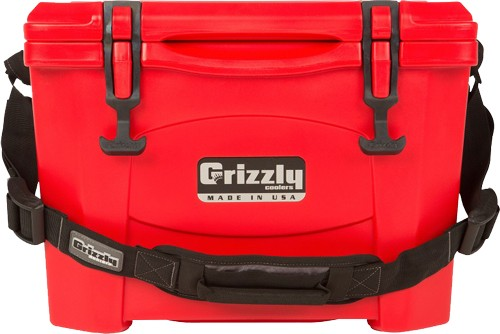 Grizzly Coolers Grizzly G15 - Red-red 15 Quart Cooler