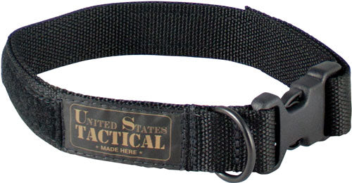 "Us Tactical K9 Collar Quick - Release Buckle Large 21"" Black"