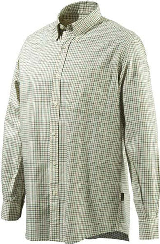 Beretta Men's Drip Dry Long - Sleeve Beige-brown Medium