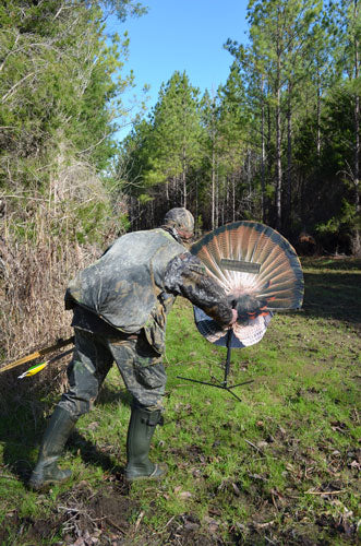 Montana Decoy Turkey Gobbler - Fanatic Xl W-foot Base