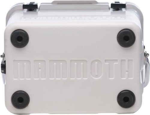 Mammoth Cruiser Series Coolers - 15 Quart White-white W-handle
