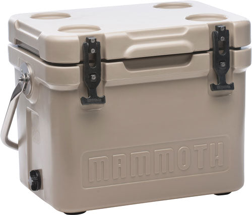 Mammoth Cruiser Series Coolers - 20 Quart Tan-tan W-handle