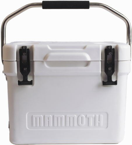 Mammoth Cruiser Series Coolers - 20 Quart White-white W-handle