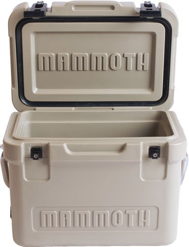 Mammoth Cruiser Series Coolers - 30 Quart Tan-tan W-handle