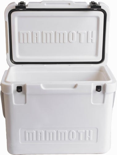 Mammoth Cruiser Series Coolers - 30 Quart White-white W-handle