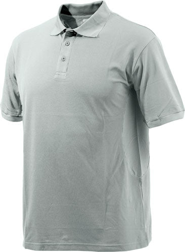 Beretta Men's Silver Pigeon - Polo Medium Ash & Silver
