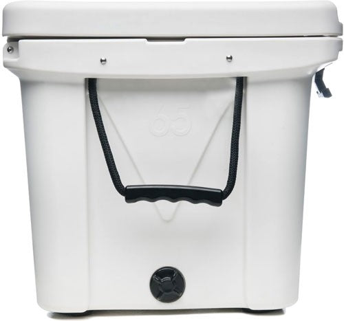Mammoth Ranger Series Coolers - 65 Quart White W-rope Handles