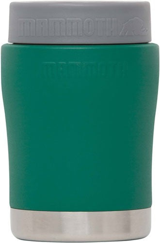 Mammoth Chillski 12oz Ss Can - Holder Forest Green W- Logo