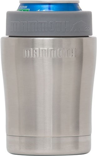 Mammoth Chillski 12oz Ss Can - Holder W-mammoth Logo